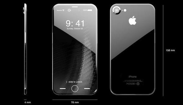 苹果8明年上市 iPhone8概念机新功能曝光