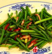 推荐三款蒜苔食谱 冬季多吃祛寒健脾胃
