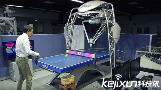 日本研制AI机器乒乓球选手 这就能对抗中国队吗?