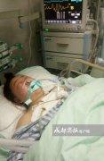 母爱的力量!车祸瞬间怀孕妈妈推开儿子 自己遭三轮车