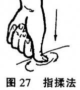 保健按摩的手法之揉法 各部位揉法动作方法