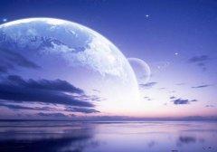 梦见月亮忽然掉下来