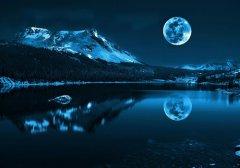 梦见月亮从山上升起来