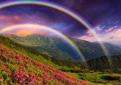 梦见黑色彩虹