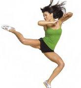 有氧搏击减肥操有效打造女性完美曲线