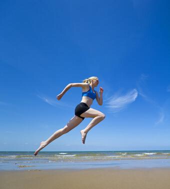 运动有助提高性能力