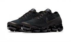 Nike Air VaporMax 纯正的黑魂配色,即将上架!