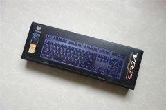 雷柏 V805 104键原厂Cherry轴 机械键盘黑轴版简评