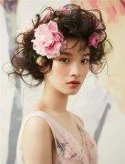 花仙子新娘发型 精灵般美好精致