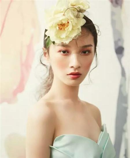 花仙子新娘发型 精灵般美好精致图片