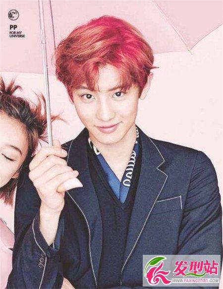 男生心形刘海发型 帅气男生刘海发型图片