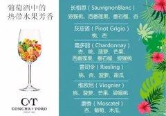 解读葡萄酒中的热带水果香气