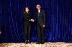 奥巴马会见DHV品牌CEO张馨月鼓励女性创业