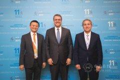 WTO世界经济论坛同eWTP共建对话平台 电商是中小企业和