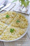 玉米甜品小吃――奶香玉米烙
