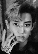 EXO朴灿烈发型 纹理烫塑造花样美男