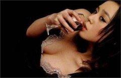 女人与葡萄酒的恋爱关系!