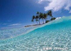 马尔代夫天堂海岛 忘记烦恼拥抱大海
