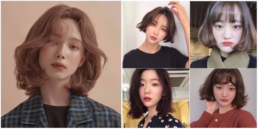 2018年短发流行款图女 直卷发都适用从刘海到发尾都美
