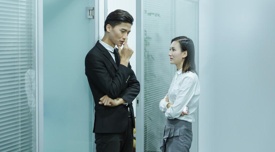 老弟说不找同事做女友,原因似乎有点道理