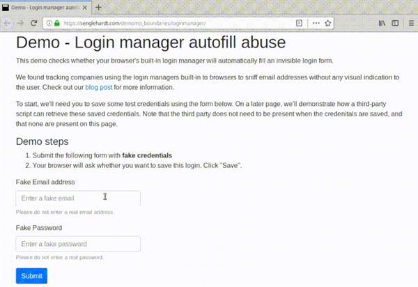 不要用浏览器内的保存密码了,因为可能被黑客记下来 IT业界 第2张
