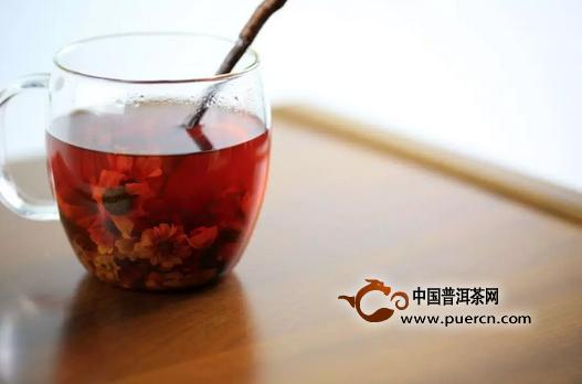 立春暖身茶之玫瑰大枣红茶饮