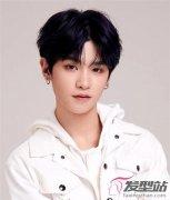 韩系男生发型设计 心形刘海时髦当道