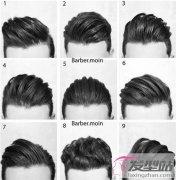 男士发型流行款 31款侧削undercut短发