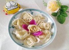 白菜猪肉香菇饺子