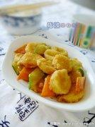 鲍汁脆皮豆腐