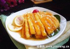 冬日美食——柠檬汁鸡脯肉