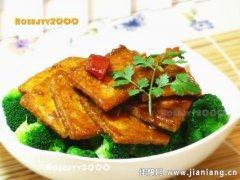 早春家常菜——豆腐烧西兰花
