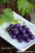 健康小点心——紫薯葡萄