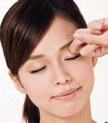 眼部除皱按摩手法有哪些