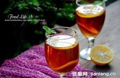 秋日美白养颜饮品――蜂蜜柠檬茶