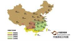 世界茶区和中国茶区的分布