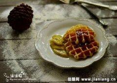比利时布鲁塞尔风味茶点――格子松饼