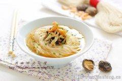 温州特色美食——姜酒索面