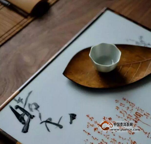 茶遇水是幸福的,人有茶更幸福的。