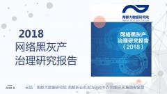 2018网络黑灰产治理研究报告