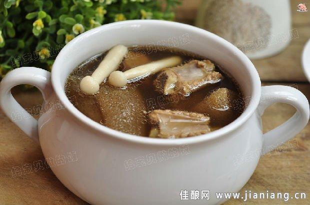 竹荪海鲜菇排骨