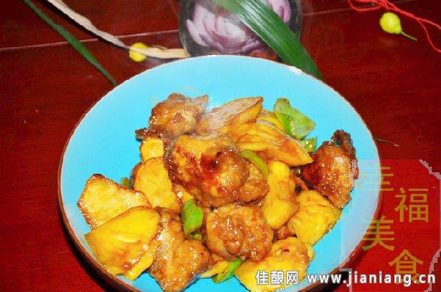 菠萝炒小排