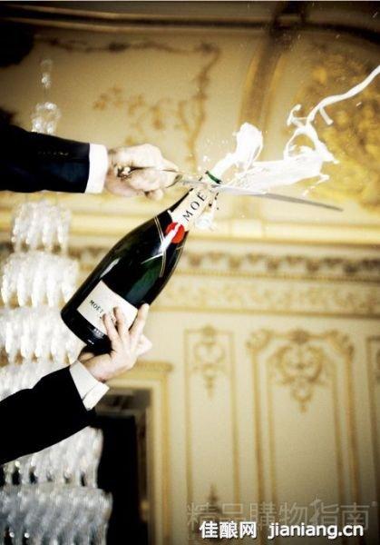 香槟的致命性感