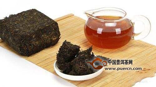 黑茶的功效与作用、冲泡方法、鉴别方式