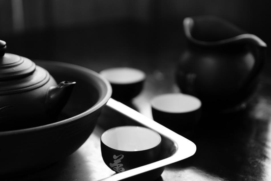 禅茶一味放身心静静地享受着茶香
