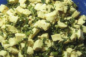 香椿头拌豆腐
