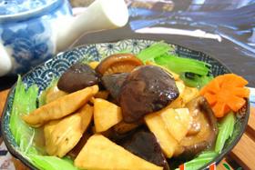 冬菇炒塔菜
